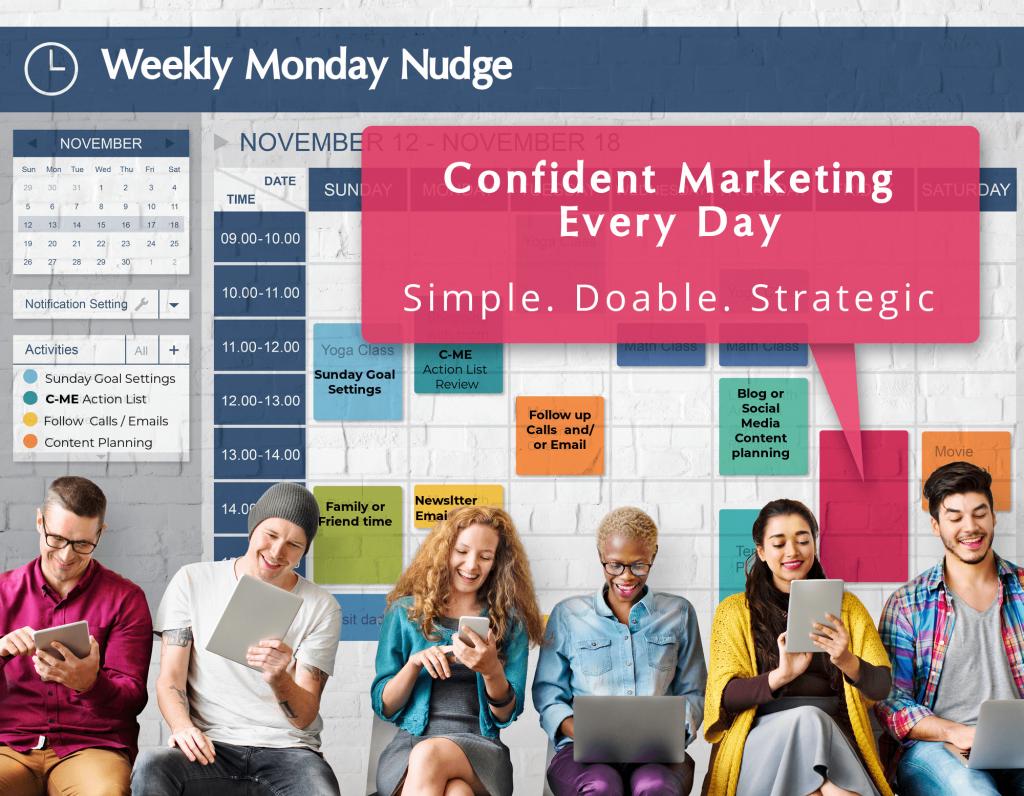 Monday Nudge Calendar